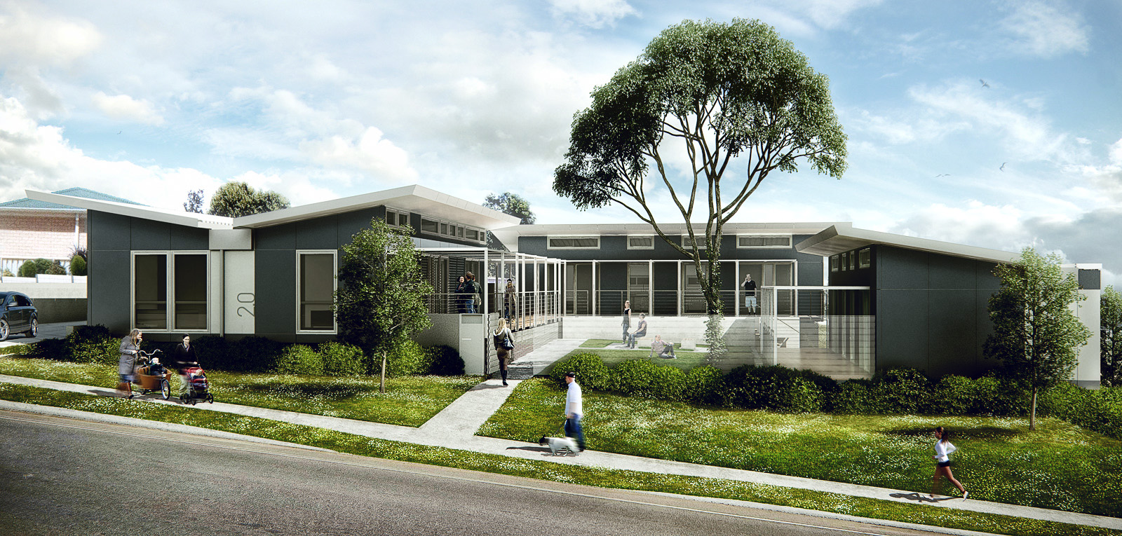 3d visualization wodonga house architectural for House visualizer